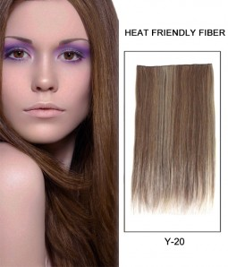 "20"" Straight Synthetic Miracle Wire Uni-Hair Extension E52001-Y-20"