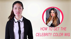 how to choose the celebrity color wig