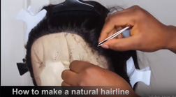 Make Your Lace Wigs Hairline So Natural